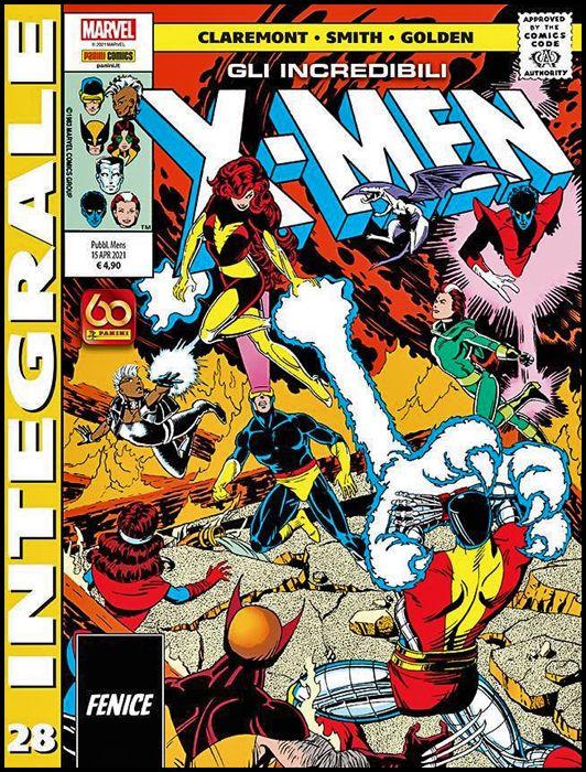 MARVEL INTEGRALE - X-MEN #    28