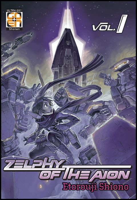 SCI-FI COLLECTION - ZELPHY OF THE AION 1/5 COMPLETA NUOVI