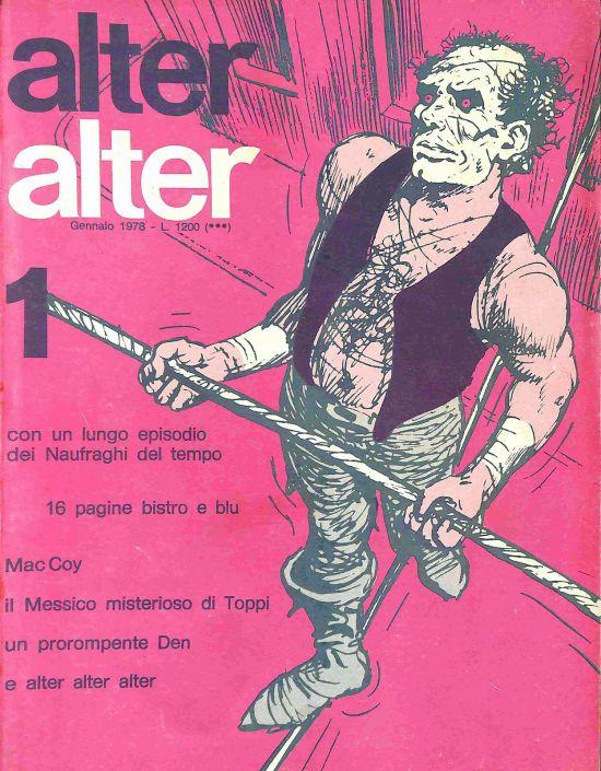ALTER ALTER 1/12   5 ANNO 1978  COMPLETA OTTIMI