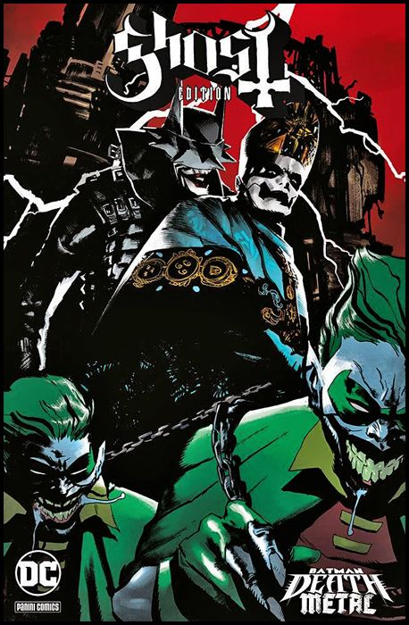 DC CROSSOVER #     8 - BATMAN: DEATH METAL 2 - VARIANT BAND EDITION - GHOST