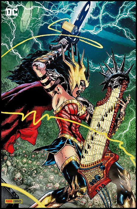 DC CROSSOVER #     8 - BATMAN: DEATH METAL 2 - VARIANT METAL