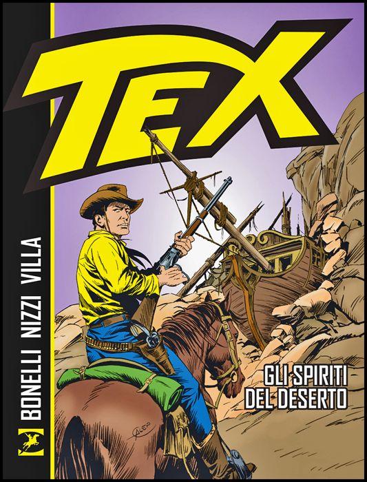 TEX: GLI SPIRITI DEL DESERTO - BROSSURATO