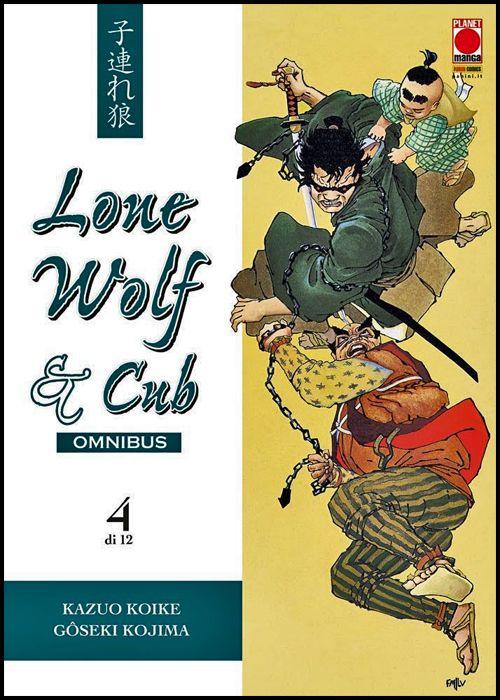 LONE WOLF & CUB OMNIBUS #     4