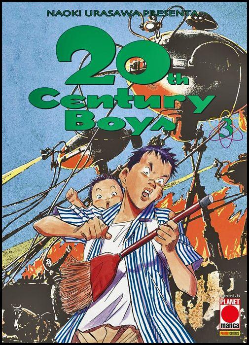 20TH CENTURY BOYS #     3 5A RISTAMPA