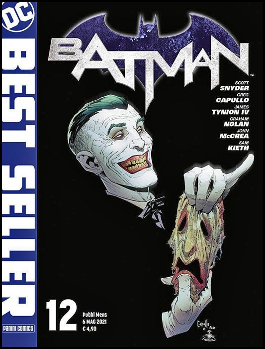 DC BEST SELLER #    12 - BATMAN di SCOTT SNYDER & GREG CAPULLO 12