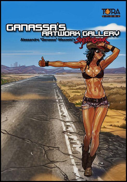 GANASSA'S SKETCHBOOK #    1 - ARTWORK GALLERY