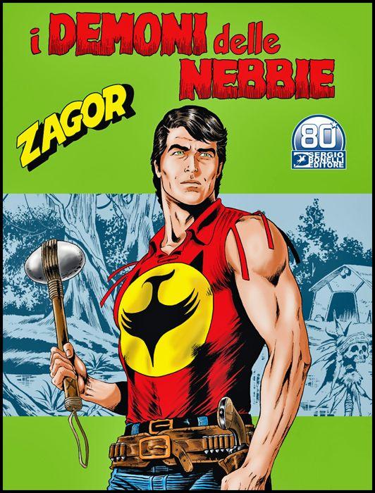 ZENITH #   720 - ZAGOR 669: I DEMONI DELLE NEBBIE + MEDAGLIA ZAGOR