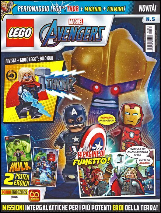 LEGO AVENGERS #     5