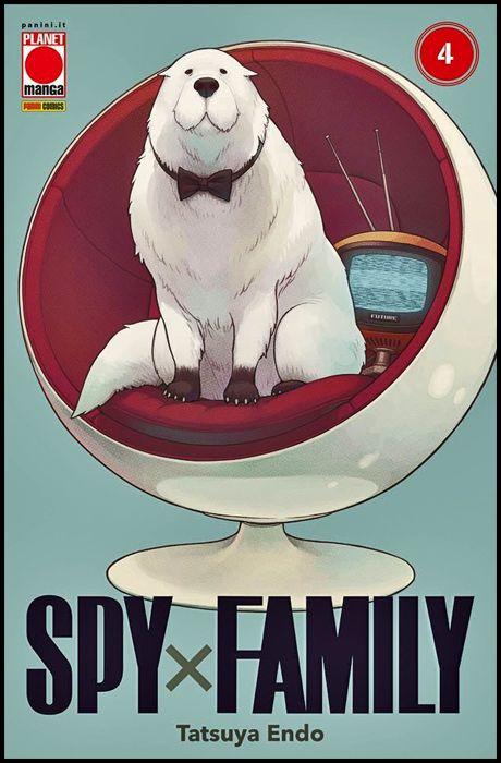 PLANET MANGA PRESENTA #   111 - SPY X FAMILY 4