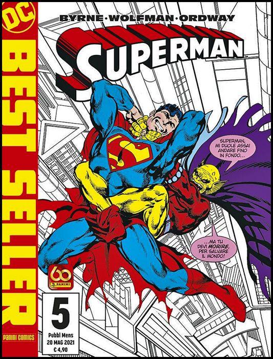 DC BEST SELLER NUOVA SERIE #     5 - SUPERMAN DI JOHN BYRNE 5