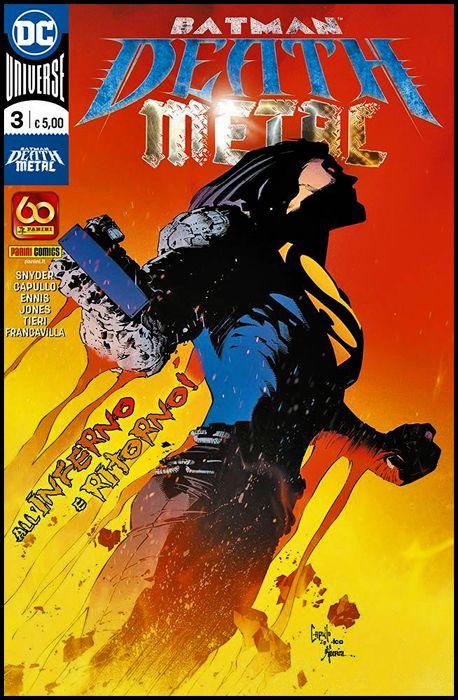 DC CROSSOVER #     9 - BATMAN: DEATH METAL 3