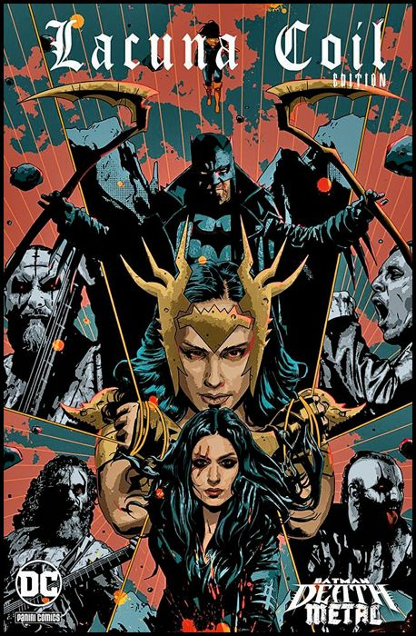 DC CROSSOVER #     9 - BATMAN: DEATH METAL 3 - VARIANT BAND EDITION - LACUNA COIL