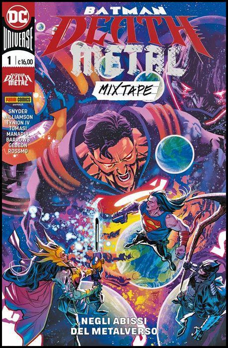 BATMAN: DEATH METAL MIXTAPE #     1: NEGLI ABISSI DEL METALVERSO