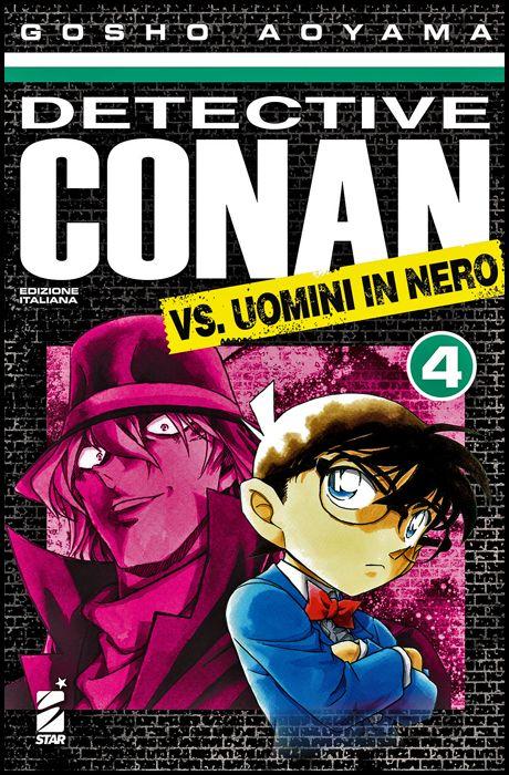 DETECTIVE CONAN VS. UOMINI IN NERO 4