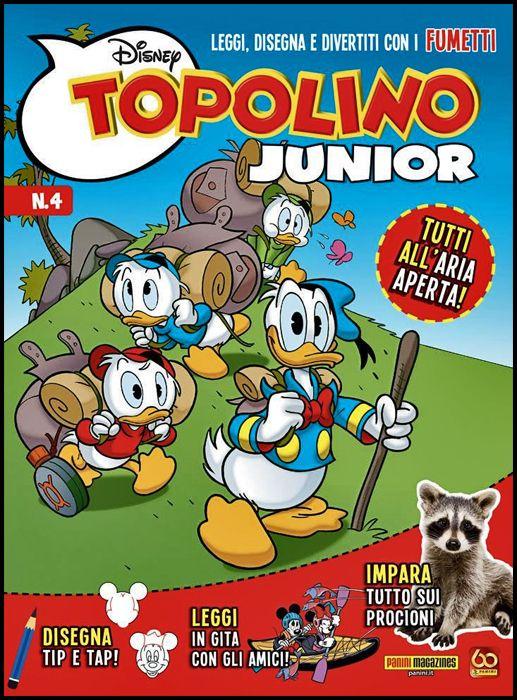 DISNEY PLAY #    18 - TOPOLINO JUNIOR 4 + IL DOBBLE DI TOPOLINO!