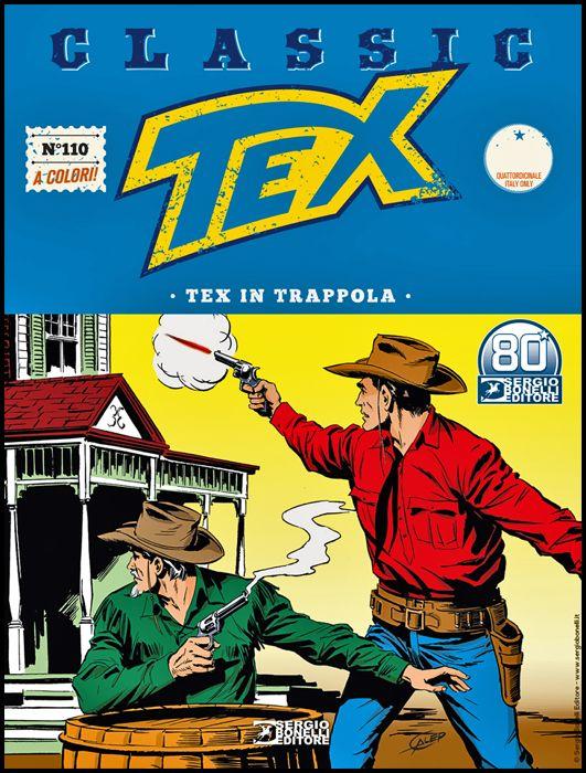 TEX CLASSIC #   110: TEX IN TRAPPOLA
