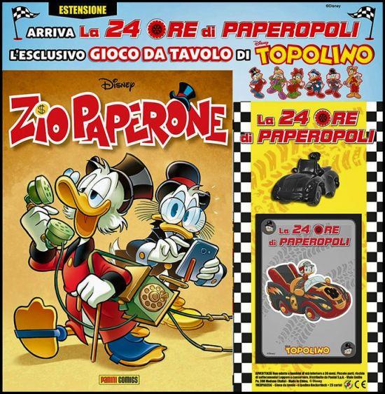 ZIO PAPERONE #    35 + GIOCO DA TAVOLO DI TOPOLINO - LA 24 ORE DI PAPEROPOLI - ESTENSIONE 1