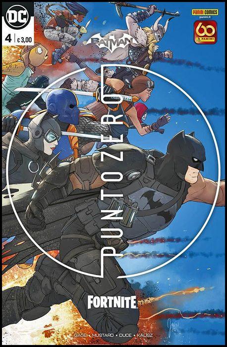 BATMAN/FORTNITE: PUNTO ZERO #     4