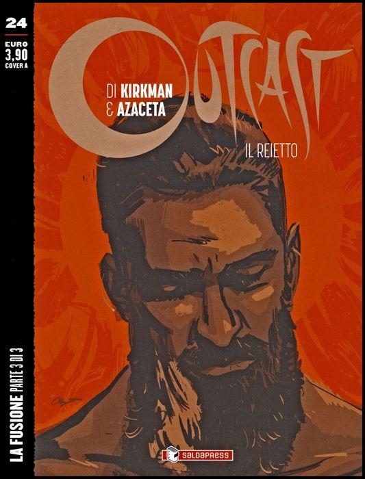OUTCAST - IL REIETTO #    24: LA FUSIONE PARTE 3 (DI 3) - COVER A