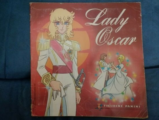 LADY OSCAR ALBUM FIGURINE COMPLETO