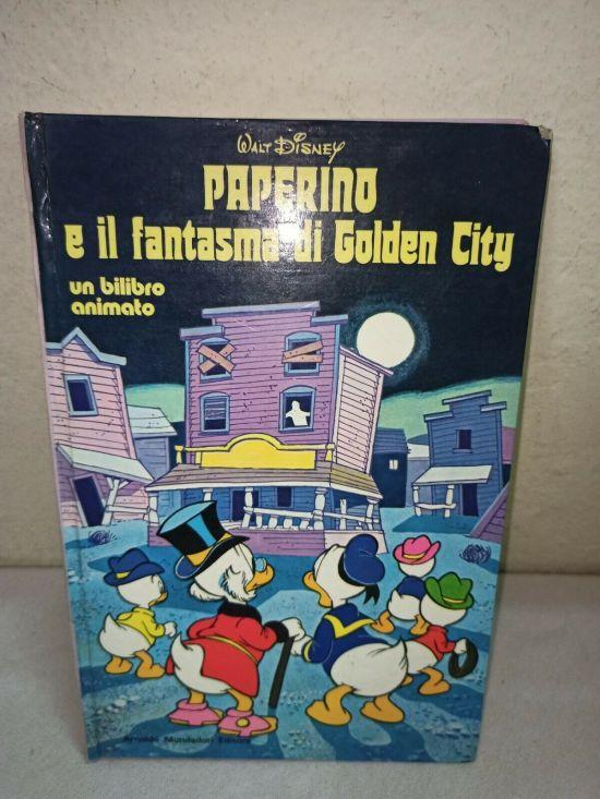 PAPERINO E IL FANTASMA DI GOLDEN CITY  BILIBRO ANIMATO