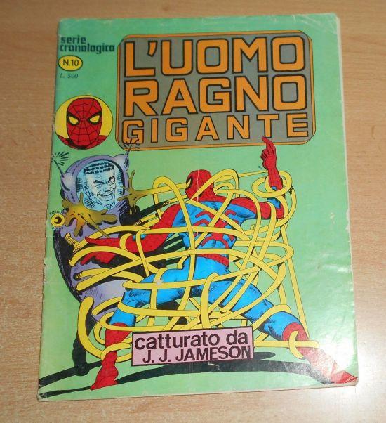 UOMO RAGNO GIGANTE #    10: CATTURATO DA J.J. JAMESON
