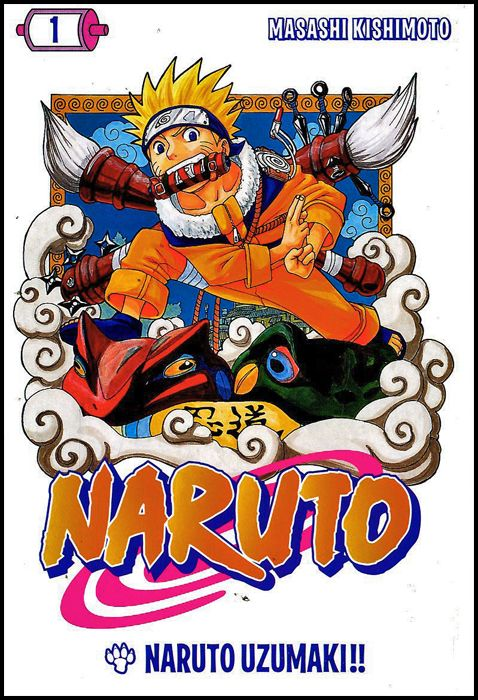I MAGAZINE DE LA GAZZETTA DELLO SPORT - NARUTO #     1: NARUTO UZUMAKI!!