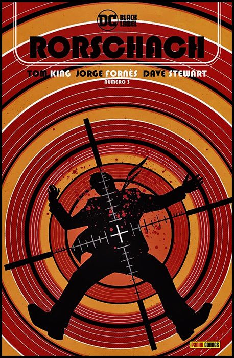 DC BLACK LABEL - RORSCHACH #     3