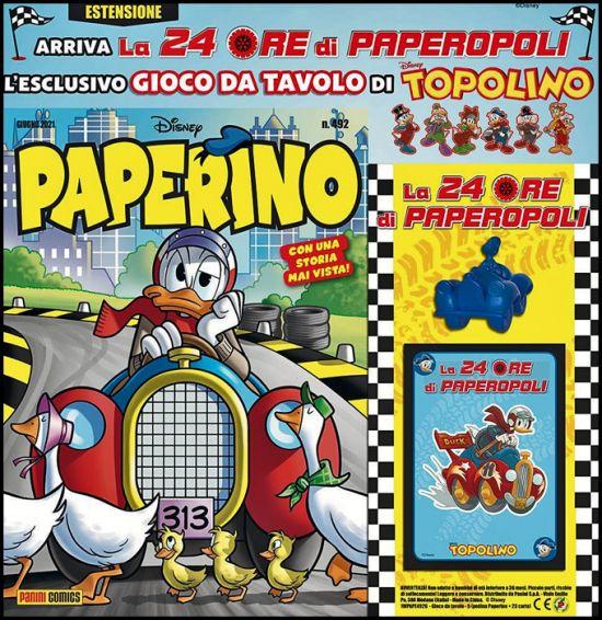 SUPER ALMANACCO PAPERINO SERIE  2 PAPERINO #   492 - LA 24 ORE DI PAPEROPOLI - ESTENSIONE 2