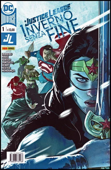 DC COMICS SPECIAL - JUSTICE LEAGUE: INVERNO SENZA FINE #     1
