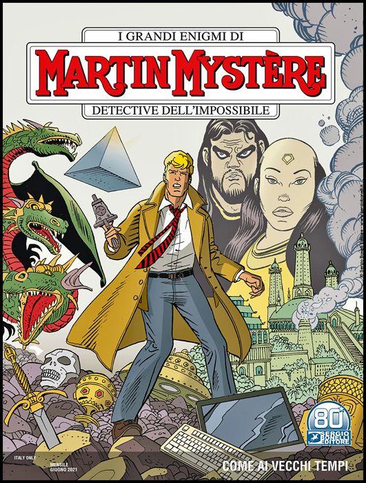 MARTIN MYSTERE #   376: COME AI VECCHI TEMPI