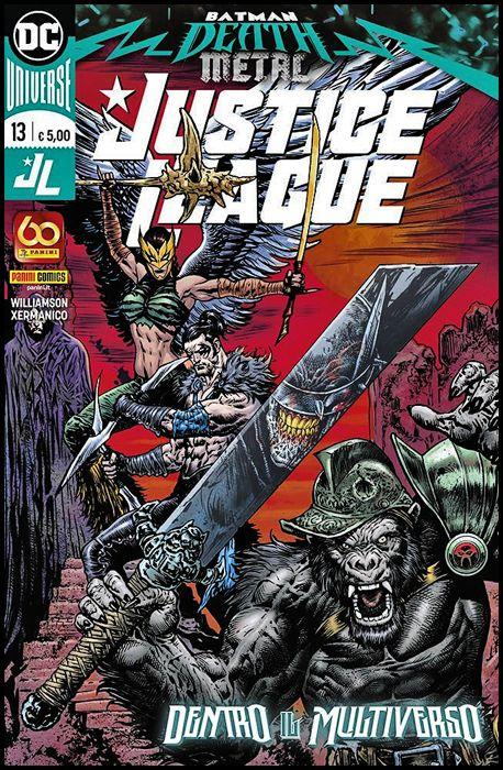 JUSTICE LEAGUE #    13 - BATMAN: DEATH METAL