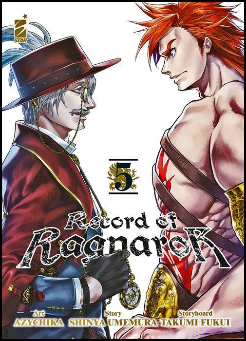 ACTION #   327 - RECORD OF RAGNAROK 5