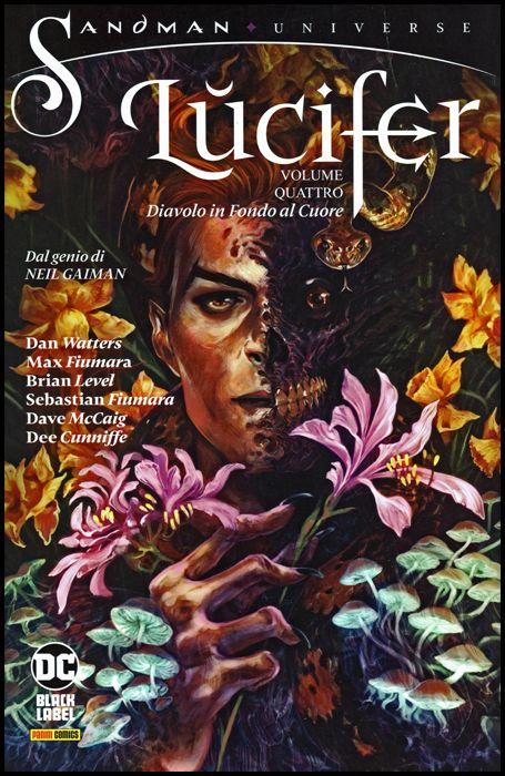SANDMAN UNIVERSE COLLECTION BLACK LABEL - LUCIFER #     4: DIAVOLO IN FONDO AL CUORE