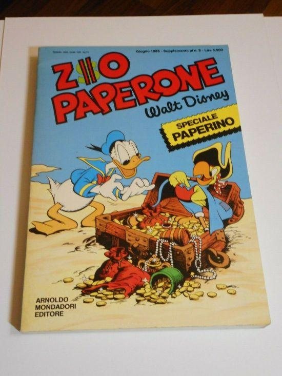 ZIO PAPERONE SPECIALE PAPERINO #     1 SUPPLEMENTO AL N 8 DI ZIO PAPERONE