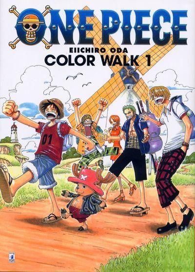ONE PIECE COLOR WALK #     1
