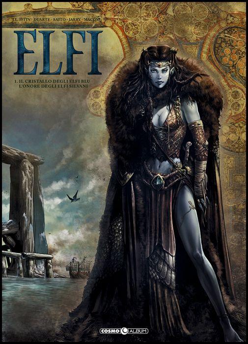 COSMO ALBUM #    10 - ELFI 1: IL CRISTALLO DEGLI ELFI BLU/L'ONORE DEGLI ELFI SILVANI