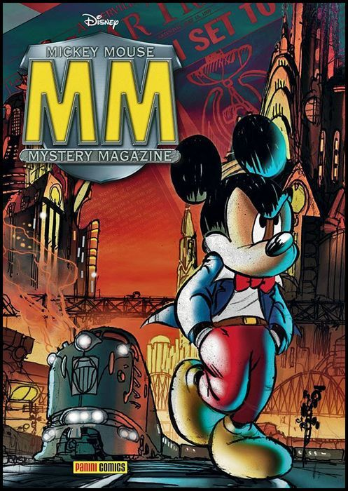 MMMM - MICKEY MOUSE MYSTERY MAGAZINE 1 + CARD ACCESS PASS