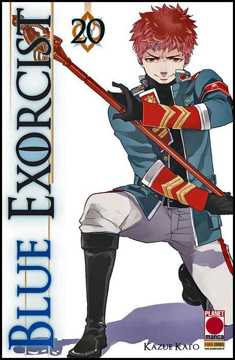 MANGA GRAPHIC NOVEL #   111 - BLUE EXORCIST 20 - 1A RISTAMPA