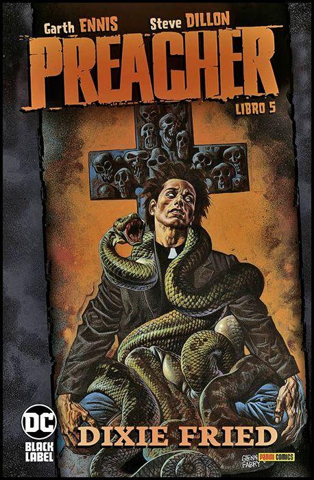 DC VERTIGO COMPLETE COLLECTION BLACK LABEL - PREACHER #     5: DIXIE FRIED