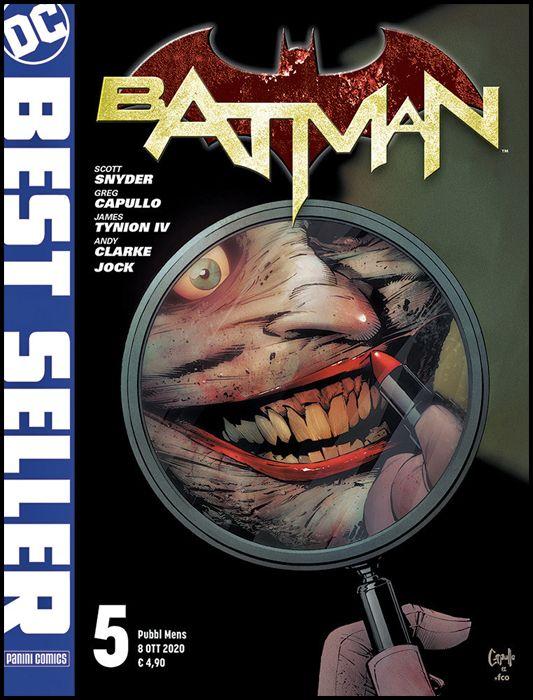 DC BEST SELLER #     5 - BATMAN di SCOTT SNYDER & GREG CAPULLO 5 - 1A RISTAMPA