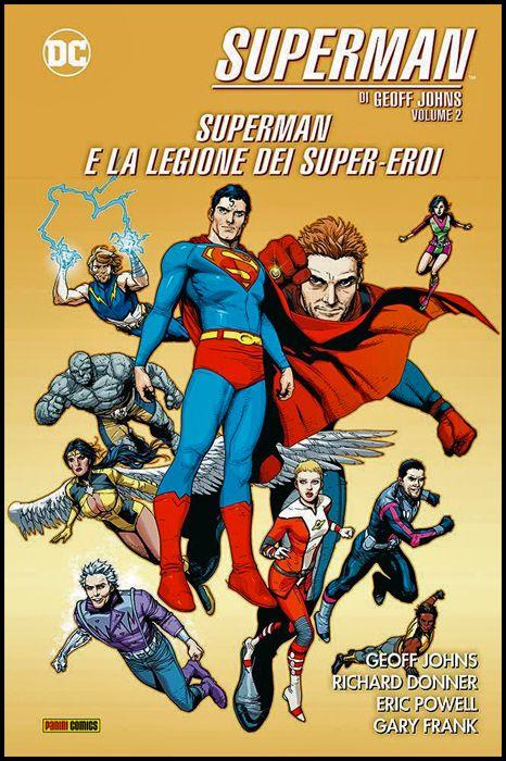 DC EVERGREEN - SUPERMAN - GEOFF JOHNS #     2: SUPERMAN E LA LEGIONE DEI SUPER-EROI