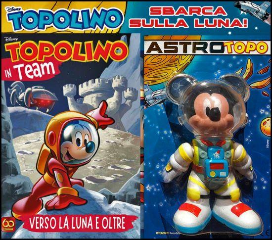 SUPER DISNEY TEAM #    91 - TOPOLINO IN TEAM: VERSO LA LUNA E OLTRE + ASTROTOPO