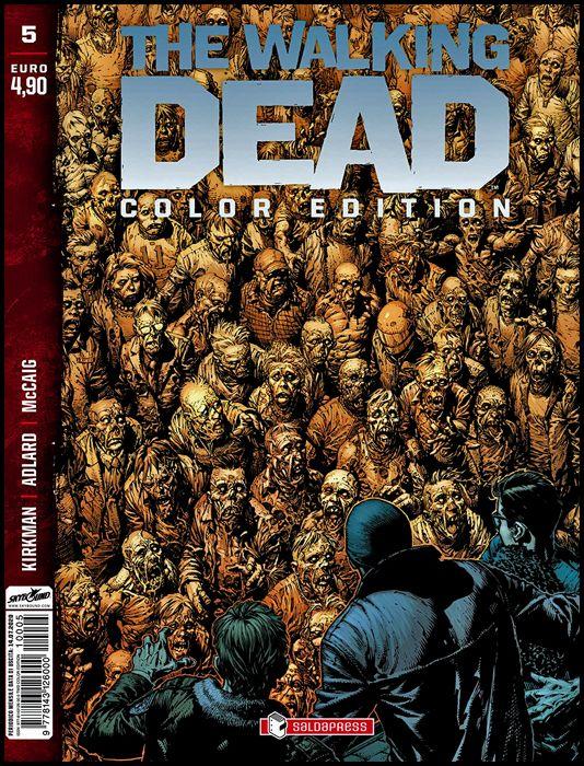 WALKING DEAD COLOR EDITION #     5