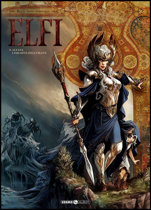 COSMO ALBUM #    12 - ELFI 8: ALYANA - L'EREMITA DELL'URANN