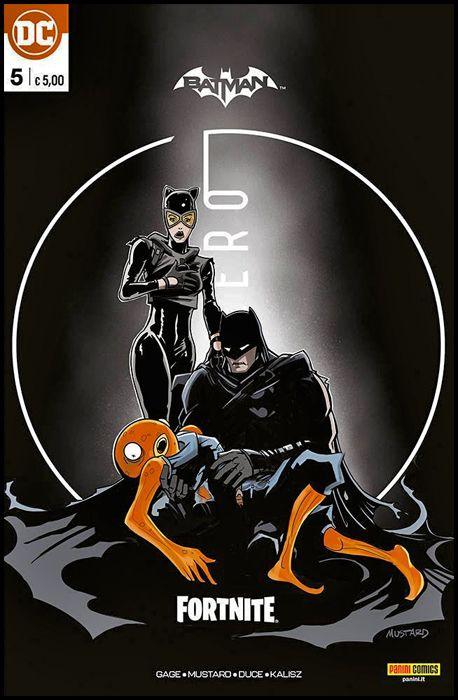 BATMAN/FORTNITE: PUNTO ZERO #     5 - PREMIUM VARIANT