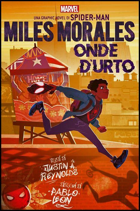 MARVEL YOUNG ADULT ORIGINAL GRAPHIC NOVEL OGN - MILES MORALES: ONDE D'URTO - UNA GRAPHIC NOVEL DI SPIDER-MAN