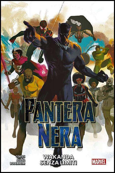 MARVEL COLLECTION INEDITO - PANTERA NERA #     9: WAKANDA SENZA LIMITI