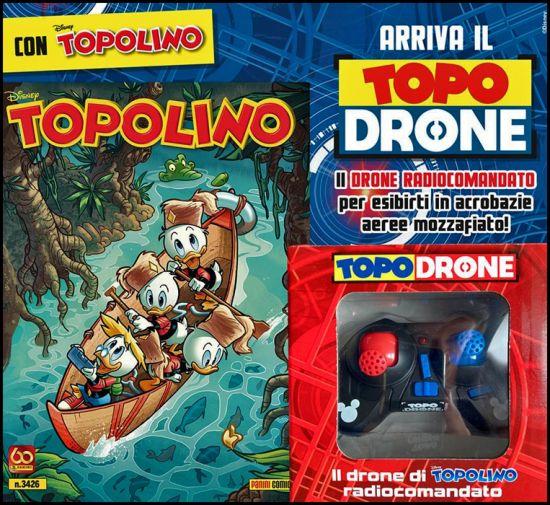 TOPOLINO LIBRETTO #  3426 + TOPODRONE 2