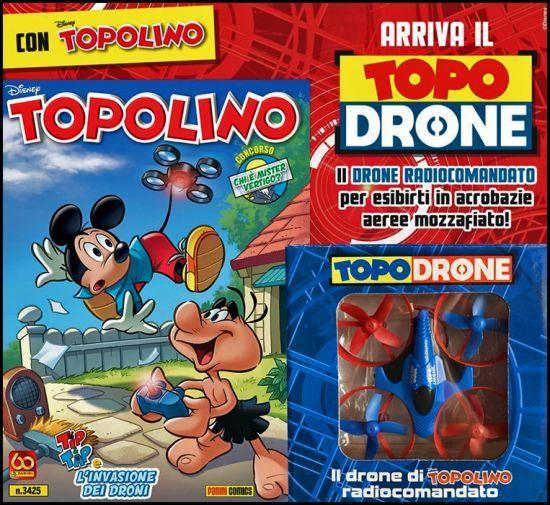 TOPOLINO LIBRETTO #  3425/3426 + TOPODRONE 1/2 COMPLETA